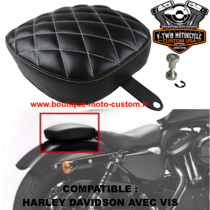 low cost attractive price latest fashion Pouf passager Harley Davidson et Custom